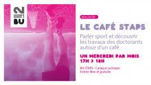 Affiches des cafés STAPS - SCD Rennes 2