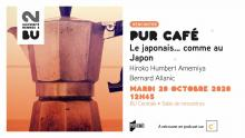 Affiche PUR Café du 20 octobre 2020 - BU Rennes 2