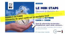 Visuel Midi STAPS du 06/10/2020 - SCD Rennes 2